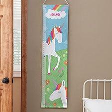 Personalized Unicorn Kids Growth Chart - 23483
