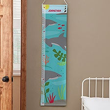 Personalized Shark Kids Growth Chart - 23484