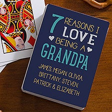 Personalized Playing Cards - Reasons Why - 23527