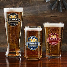 Personalized Beer Glasses - Watering Hole - 23565