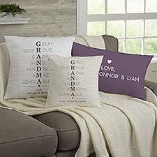 Personalized Grandma Pillows - Grandma Acronym - 23625
