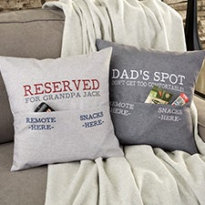 Personalized Pocket Pillow - Gift For Him - 23635