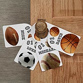 Personalized Door Knob Hangers - All Sports Designs - 2366