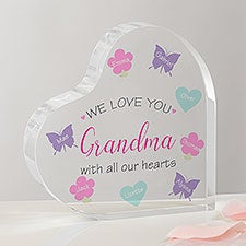 All Our Hearts Personalized Heart Keepsake Gift - 23684