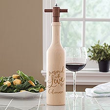 Seasoned with Love Personalized Pepper Mill - 23801