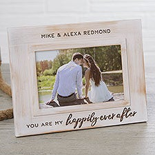 You Are My Happily Ever After Engraved Picture Frame - 24268