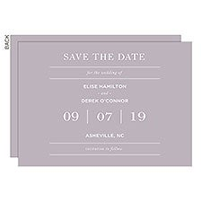 Save the Date For the Wedding Of... Personalized Cards & Magnets - 24534