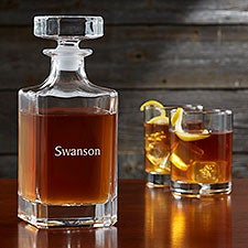 Classic Celebrations Personalized Whiskey Decanter - 24705