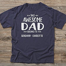 d32f2219 This Awesome Dad Belongs To Personalized Clothes - 24708