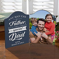 Special Dad Personalized Photo Plaque - 24728