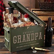 Five Star Grandpa Personalized Ammo Box - 24753