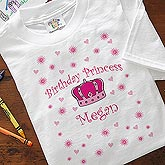 Personalized Kids Princess Clothes - Princess Design - 2487