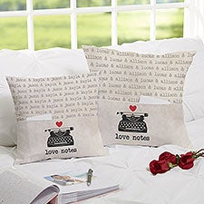 Love Notes Personalized Pocket Pillows - 25016