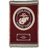US Navy Personalized Military Logo Blankets