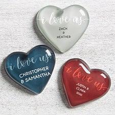 I Love Us Personalized Mini Heart Keepsake - 25248