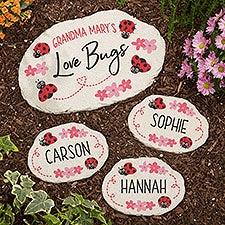 Love Bugs Personalized Garden Stones - 25393
