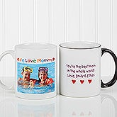 Personalized Photo Coffee Mugs - Loving Her Design