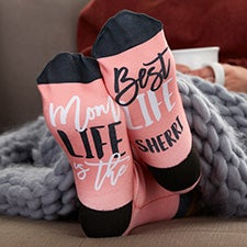 Mom Life Personalized Socks for Mom - 25694