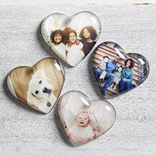 Photo Memories Personalized Mini Heart Photo Keepsakes - 25770