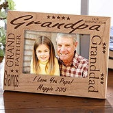 Love You Grandpa© Personalized Frame