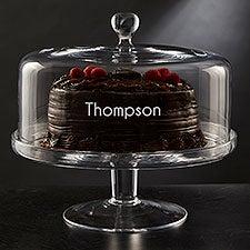 Olivia & Oliver Madison Engraved Cake Dome - 26126