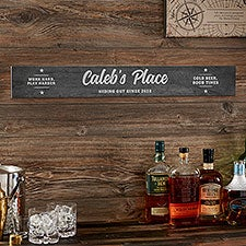 Man Cave Personalized Wood Sign - 26367