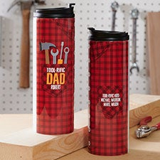 Toolrific Dad Personalized 16 oz Travel Tumbler - 26387