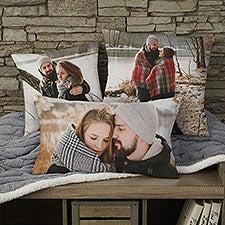 Romantic Photo Memories Personalized Photo Throw Pillows - 26404