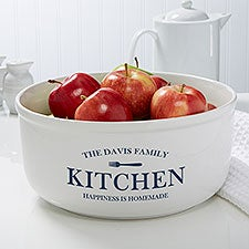 Family Market Personalized Serving Bowl - 26421