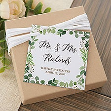 Laurels of Love Personalized Wedding Favor Tags - 26505