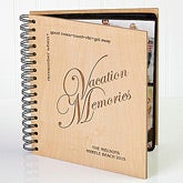 Personalized Engraved Vacation Photo Album - 2651