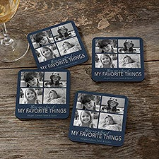 My Favorite Things Personalized Photo Coasters - 26525