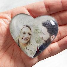 Romantic Photo Personalized Mini Heart Keepsake - 26579