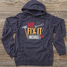 Mr. Fix It Personalized Dad Sweatshirts - 26621
