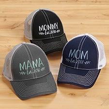 Established Mom Custom Embroidered Baseball Caps - 26639