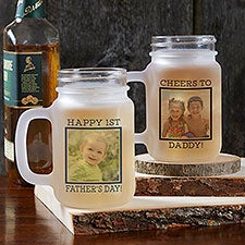 Photo Message For Him Personalized Mason Jar Glasses - 26701