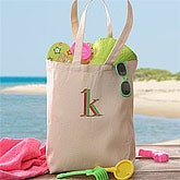 Personalized Canvas Tote Bag - Go Everywhere Design - 2677