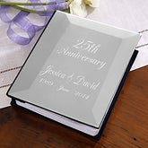 Personalized Silver Anniversary Photo Album - 2683