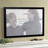 Personalized Photo & Poem Canvas Art Gifts for Friends - 2692