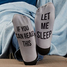 Men's Expressions Personalized Adult Socks - 26923
