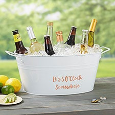 Write Your Own Personalized Beverage Tub - 26978