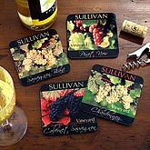 Private Reserve Wine Coaster Set
