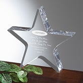 Shoot For The Moon Personalized Recognition Award - 2701