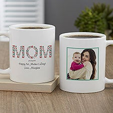Personalized Mother's Day Photo Coffee Mugs by philoSophie's - 27047