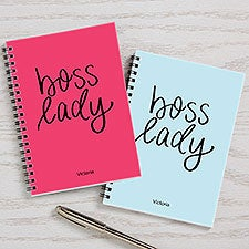 Boss Lady Personalized Journals - Set of 2 - 27087