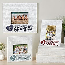 Reasons We Love Personalized Grandparents Box Picture Frames - 27282