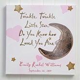 Personalized Baby Wall Art - Twinkle, Twinkle - 2742