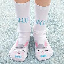 Easter Boy Personalized Kids Socks - 27562