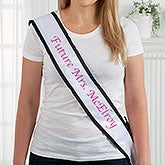 Personalized Bachelorette Printed Satin Sash - 2772