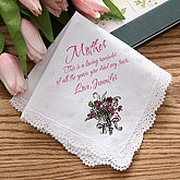 Personalized Wedding Handkerchief - Loving Reminder Design - 2785